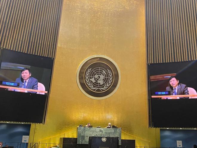 ĐẠI HỘI ĐỒNG LHQ THÔNG QUA NGHỊ QUYẾT DO VIỆT NAM THAY MẶT ASEAN CHỦ TRÌ ĐỀ XUẤT