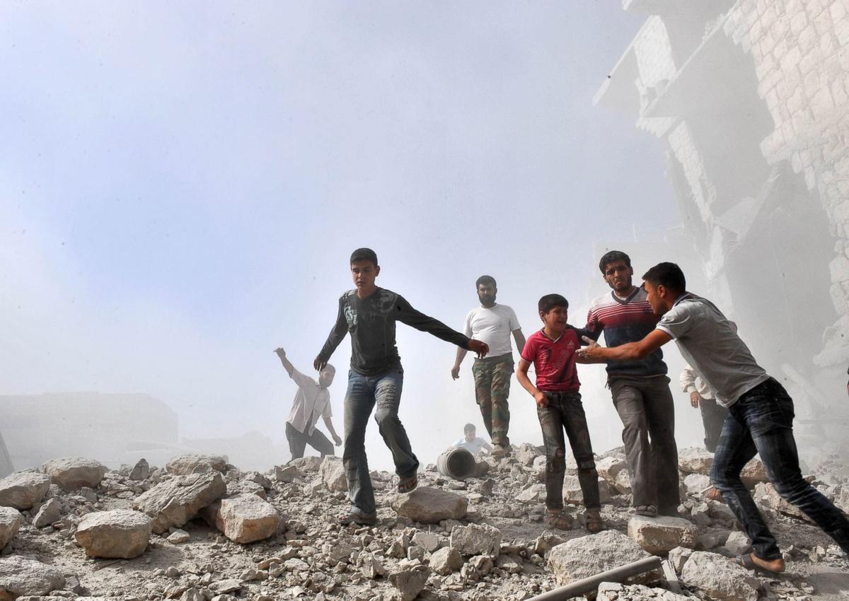 NHÌN LẠI 10 NĂM CUỘC NỘI CHIẾN TÀN KHÓC TẠI SYRIA