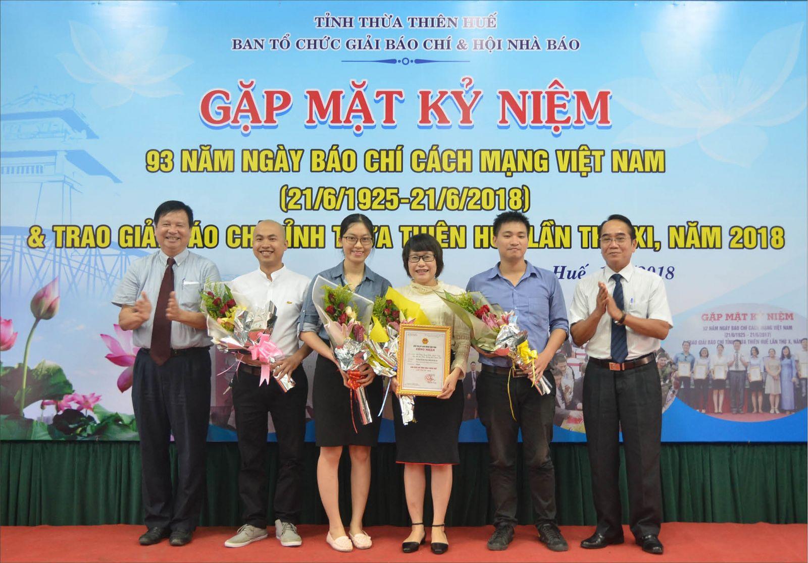 19 tác phẩm đoạt giải báo chí Thừa Thiên Huế lần thứ XI-2018