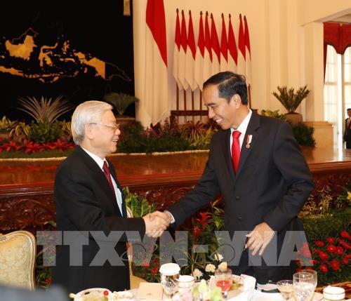 Tổng thống Indonesia Joko Widodo thăm chính thức Việt Nam