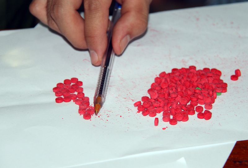 Bắt giam đối tượng tàng trữ ma túy