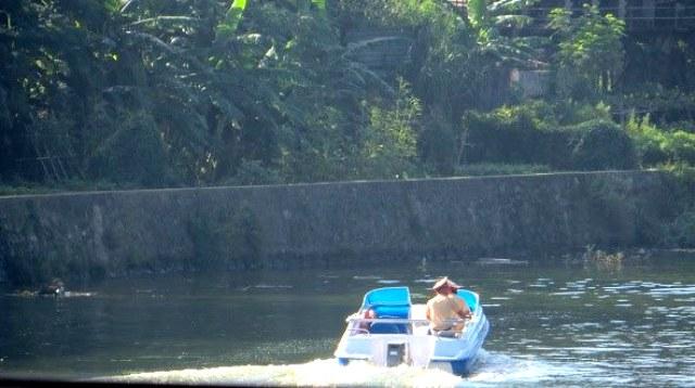Phát hiện thi thể người đàn ông nổi trên sông Đông Ba