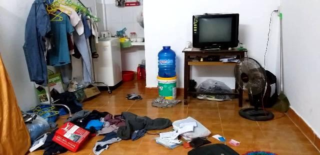 Trộm đột nhập phòng trọ ở Phú Thượng