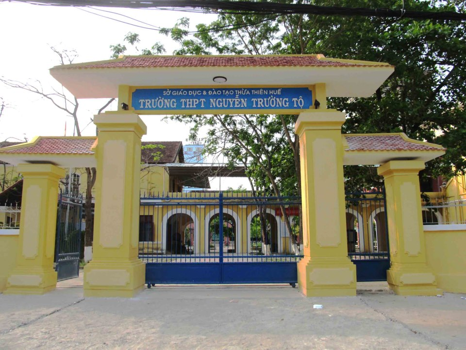 Đã có phương án cải tạo và xây mới Trường THPT Nguyễn Trường Tộ