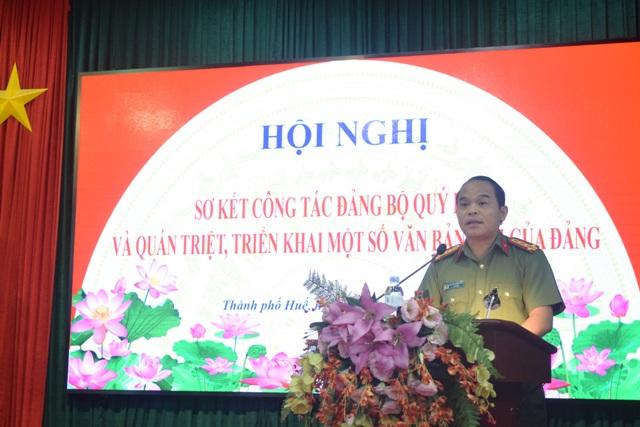 Bảo đảm an ninh, trật tự Festival Nghề truyền thống Huế