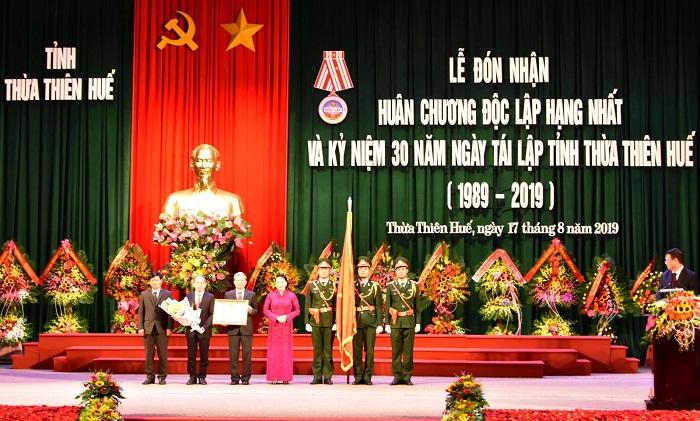 Kỷ niệm trọng thể 30 năm ngày tái lập tỉnh và đón nhận Huân chương Độc lập hạng Nhất