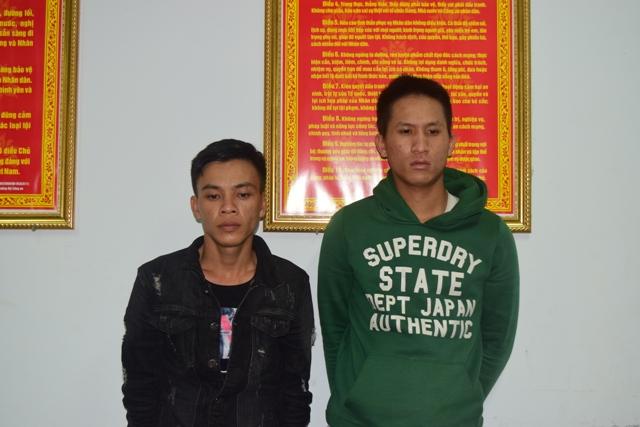 Hai đối tượng chuyên trộm cắp tài sản sa lưới