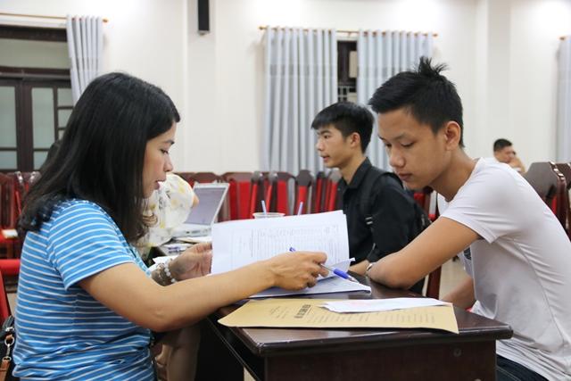 Trường ĐH Nông Lâm đón thí sinh trúng tuyển phương thức xét học bạ nhập học