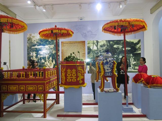 Bảo tàng Văn hóa Huế trưng bày về đám cưới cổ truyền