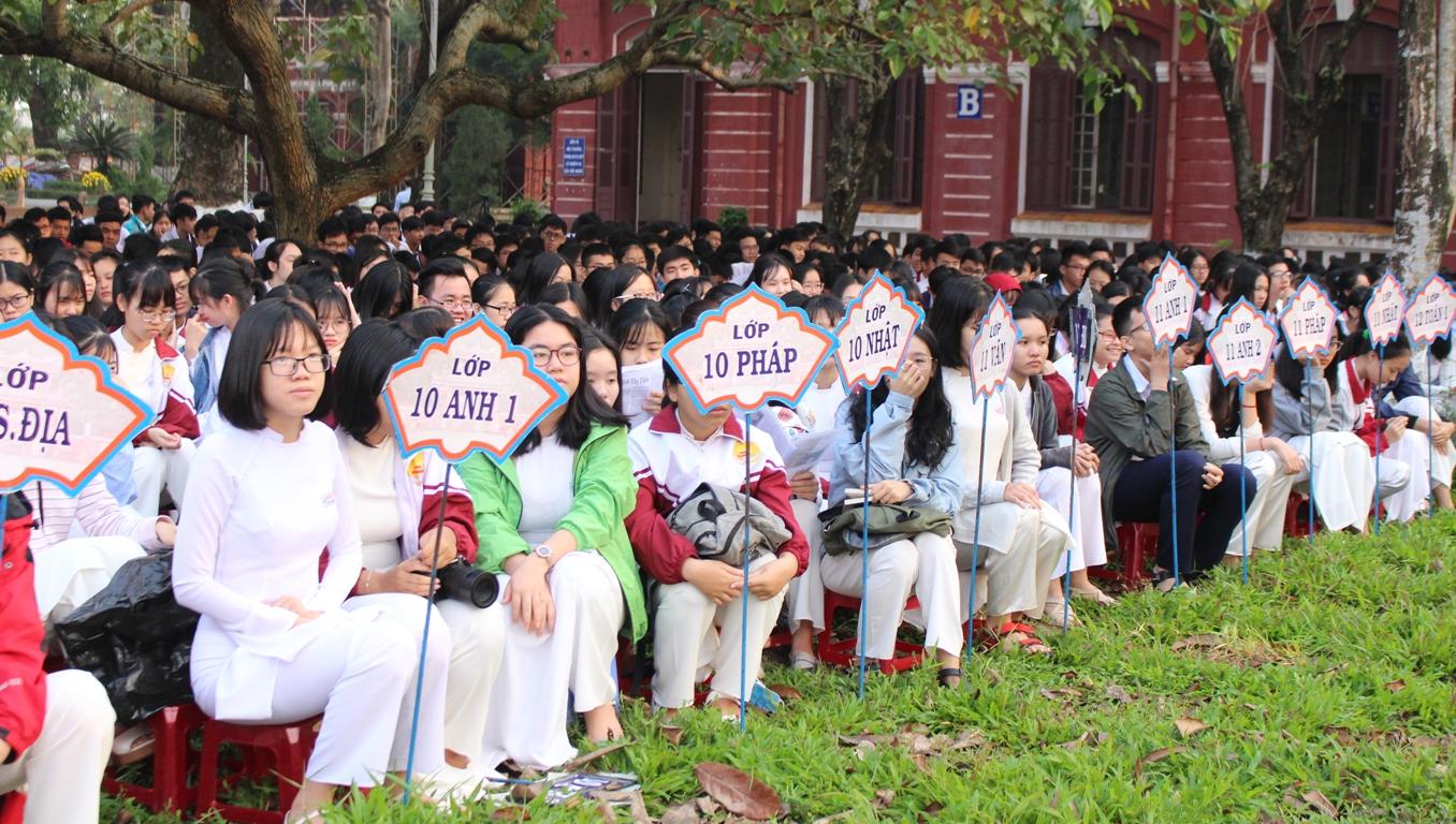 Học sinh trường chuyên ở Huế được tuyển thẳng vào Đại học Quốc gia TP. Hồ Chí Minh