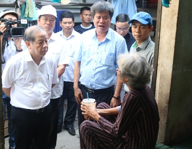 Mong người dân ủng hộ chủ trương di dời đến nơi ở tốt hơn