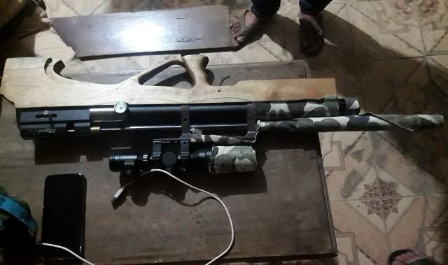 Công an huyện Phú Lộc phát hiện súng hơi tự chế và ma túy