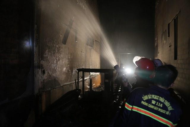 Cháy kiot làm tóc, thiệt hại khoảng 40 triệu đồng