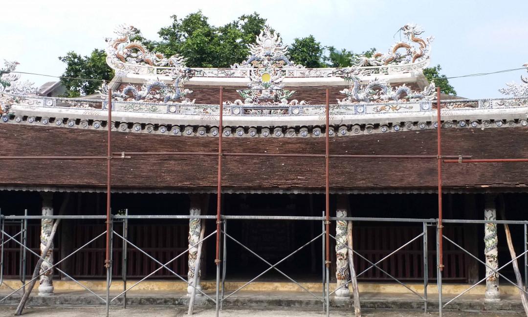 """Thừa Thiên Huế: Nhiều đình làng xuống cấp nặng, có nguy cơ thành """"phế tích"""""""