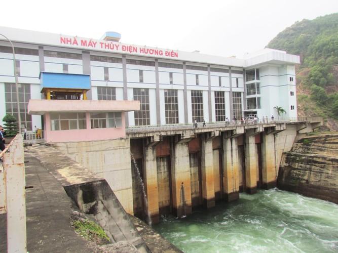 Khắc phục sự cố sạt lở tại Nhà máy thủy điện Hương Điền