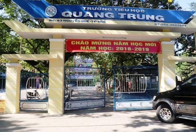 TP Huế: Trường tiểu học Quang Trung bị buộc trả lại hơn 300 triệu đồng thu trái tuyến