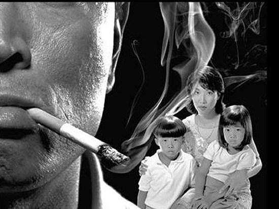 64% ca tử vong do hút thuốc lá thụ động là nữ