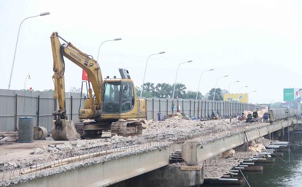 TP. Huế: Gấp rút nâng cấp cầu Phú Xuân trước mùa mưa bão