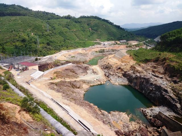 Thủy điện Bình Điền điều tiết về mực nước chết để đón lũ