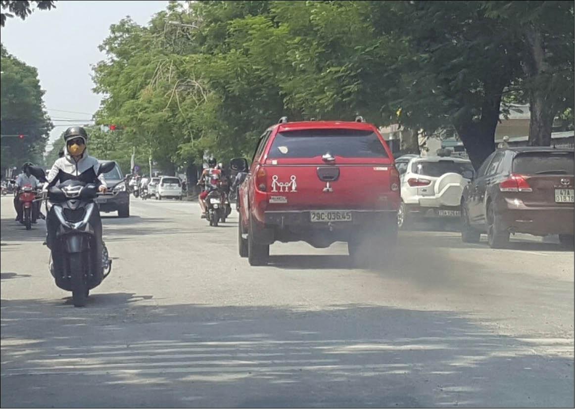 Mối lo ô nhiễm không khí
