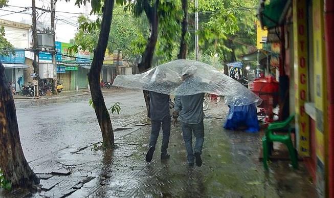 Huế đón cơn 'mưa vàng' giải nhiệt
