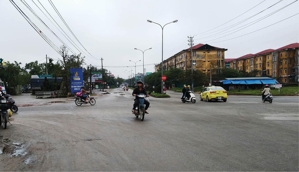 Nhiều điểm giao thông mất an toàn