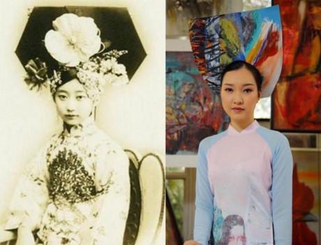 NTK Sĩ Hoàng nói về chuyện mấn áo dài trông giống mão Trung Quốc