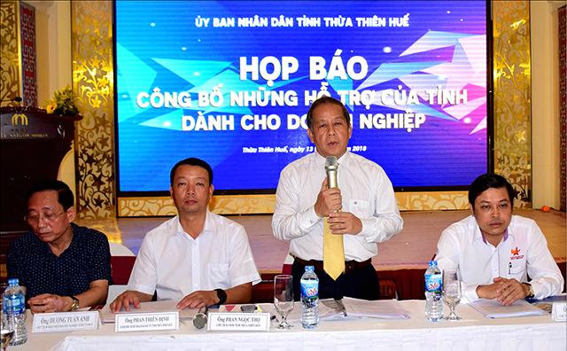 Chủ tịch UBND tỉnh Phan Ngọc Thọ: Hỗ trợ tối đa để doanh nghiệp phát triển