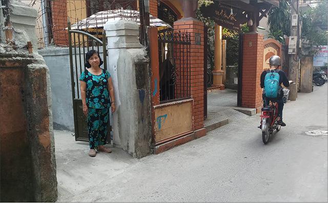Thỏa thuận để bà Trần Thị Bích Lan được trổ cổng ra đường kiệt