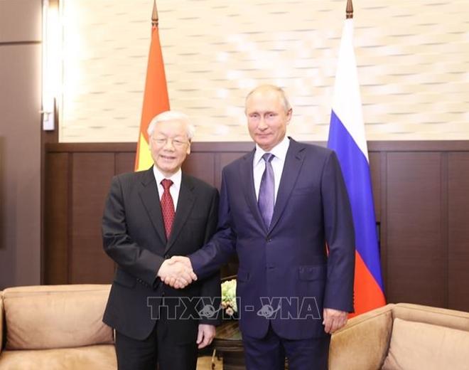 Tuyên bố chung về kết quả chuyến thăm chính thức LB Nga của Tổng Bí thư Nguyễn Phú Trọng