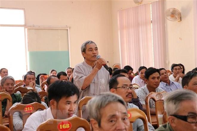 3.480 ý kiến, kiến nghị của cử tri, nhân dân cả nước gửi tới Quốc hội