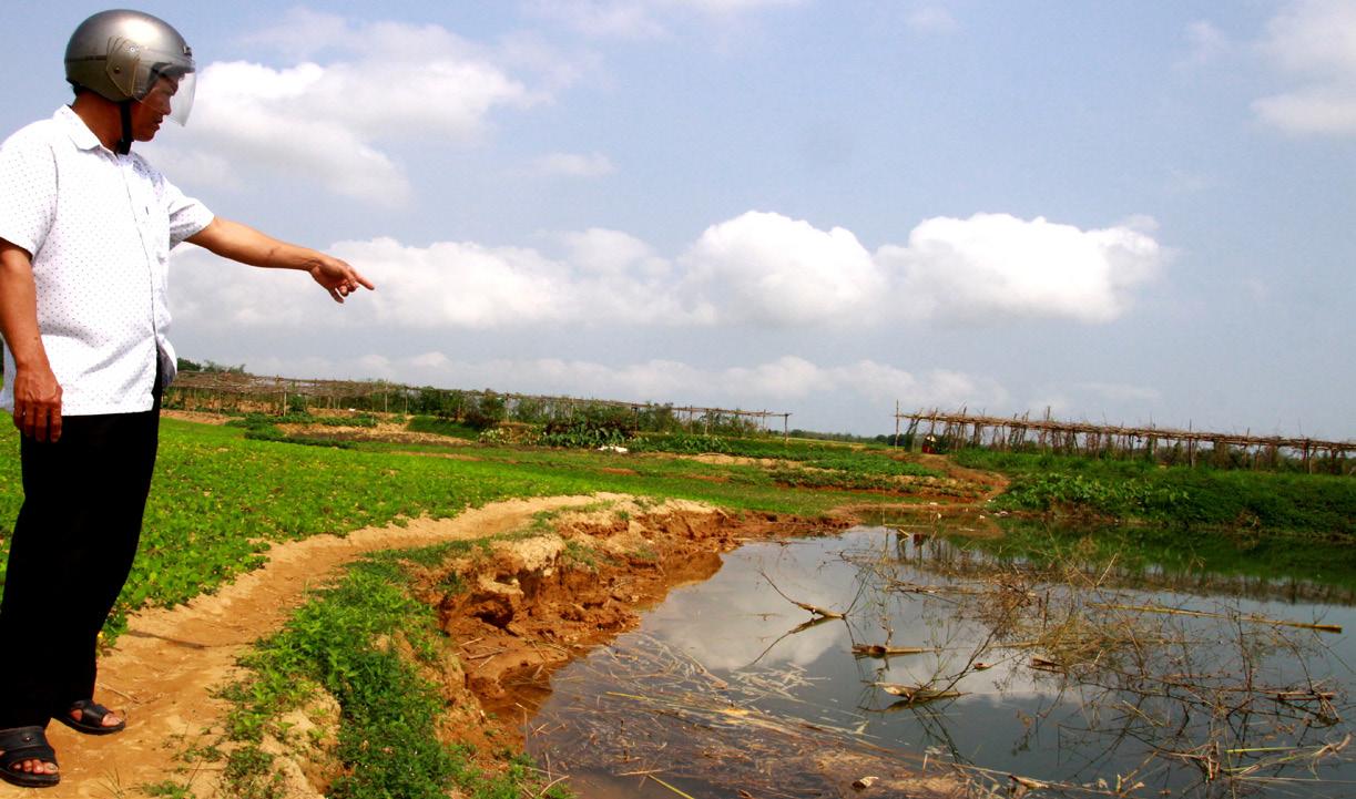 Tự quản chống nạn khai thác cát trộm trên sông Bồ