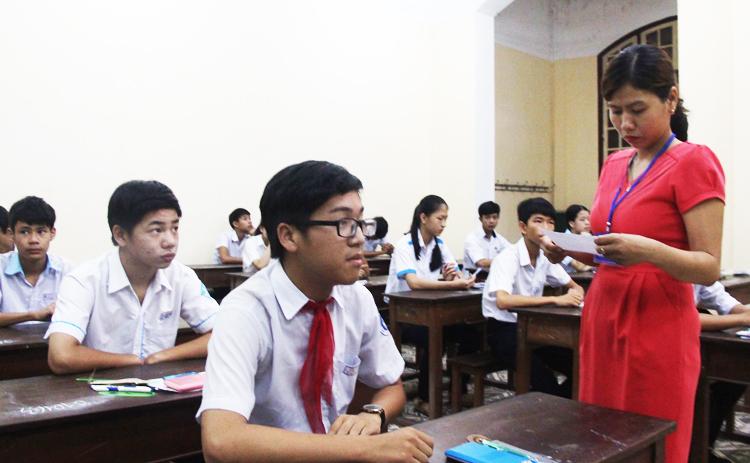 Thành phố Huế lần đầu tổ chức thi tuyển học sinh lớp 10
