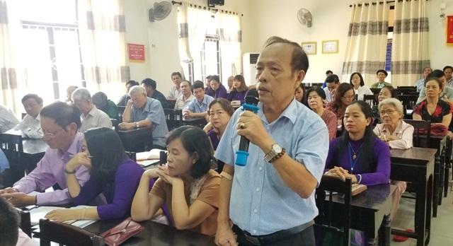 Cử tri quan tâm đến việc di dân khu vực Thượng Thành