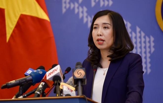 Việt Nam phản đối hoạt động trái phép của Trung Quốc tại Hoàng Sa, Trường Sa