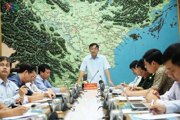 Bão số 4 tăng tốc, đi vào Nghệ An-Quảng Bình vào sáng đến trưa mai