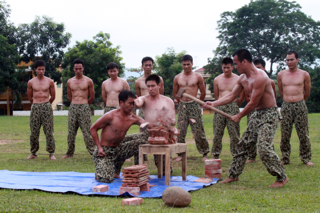 Chân dung chiến sĩ đặc công Quân đội Nhân dân Việt Nam