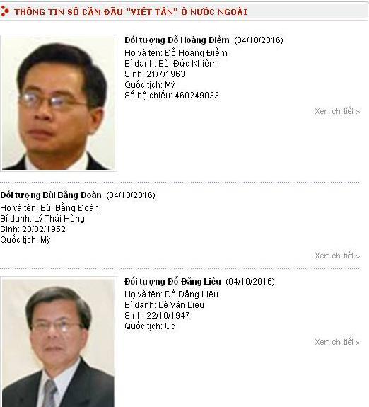 Bộ Công an công bố danh sách tổ chức, cá nhân liên quan đến khủng bố, tài trợ khủng bố