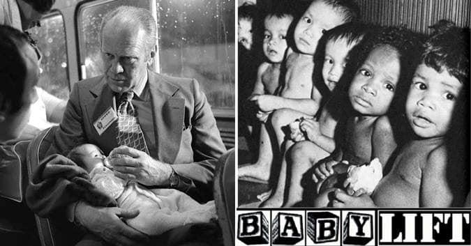 CHIẾN DỊCH BABYLIFT 1975 VÀ NHỮNG TOAN TÍNH BẨN THỈU CỦA NHÀ TRẮNG