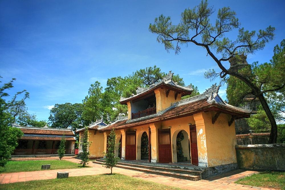 Chùm ảnh: Chùa Thiên Mụ – ngôi cổ tự nổi tiếng nhất miền Trung