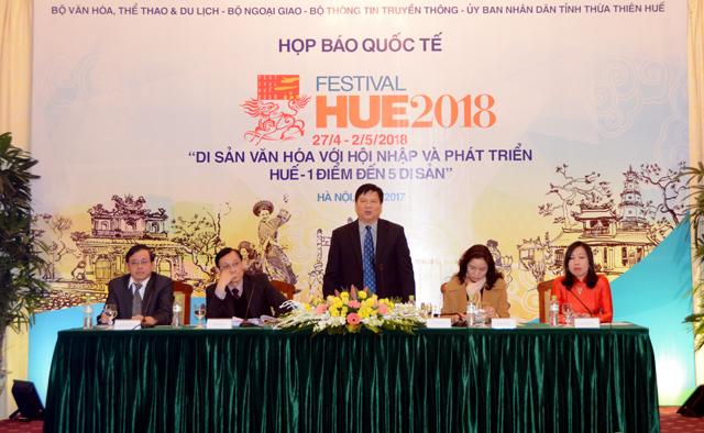 Festival Huế 2018 quy tụ 20 đoàn nghệ thuật quốc tế