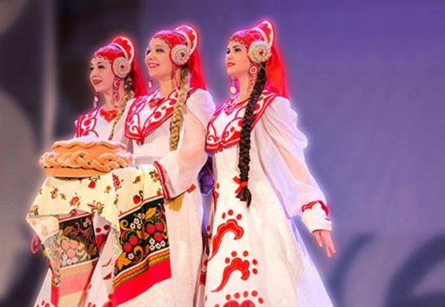 """Đoàn múa dân gian """"Họa tiết Sibiri"""" tham gia Festival Huế 2018"""