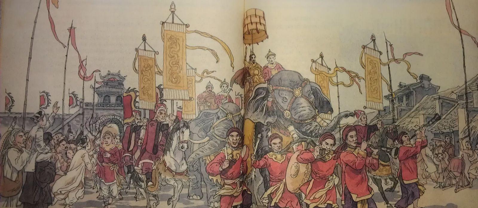 Hoàng đế Quang Trung đã làm gì sau khi đánh quân phương Bắc tơi bời?