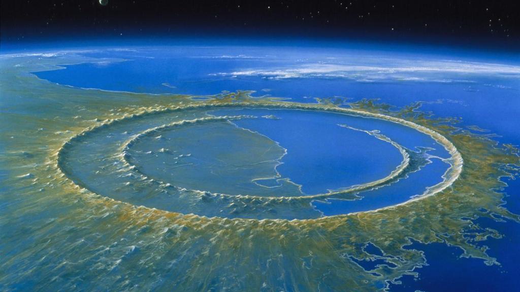 Siêu thiên thạch khổng lồ tiêu diệt loài khủng long 66 triệu năm trước