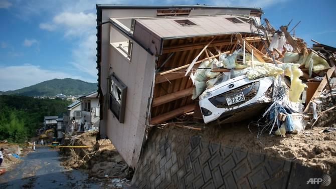 Nhật Bản: Số người thiệt mạng do mưa lũ tăng lên 141 người