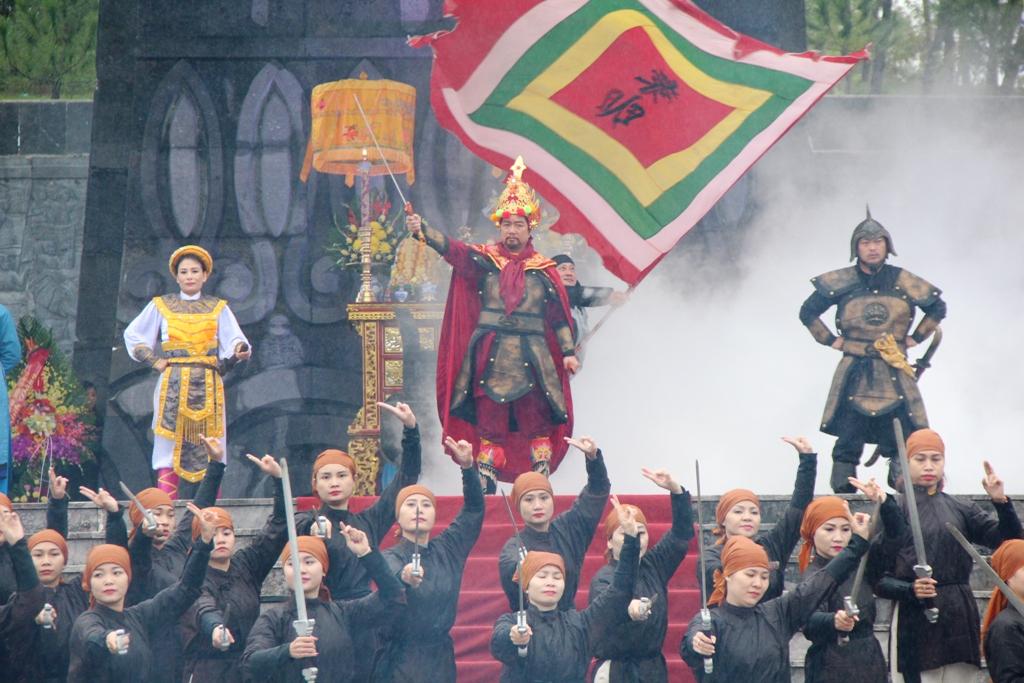 Tái hiện lễ lên ngôi của hoàng đế Quang Trung