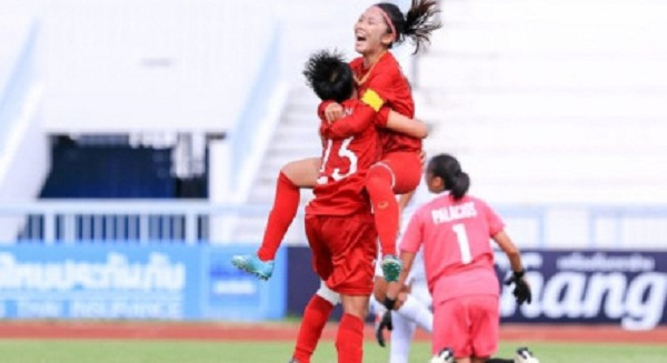 Hạ kình địch Thái Lan 1 - 0, tuyển nữ Việt Nam vô địch Đông Nam Á