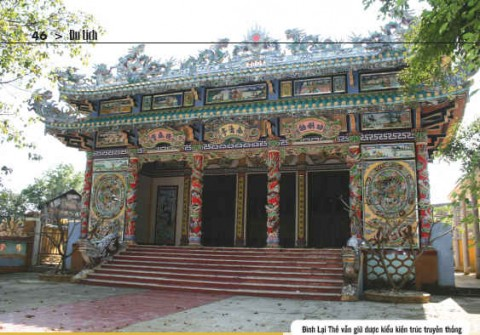 Ấn tượng đình làng xứ Huế