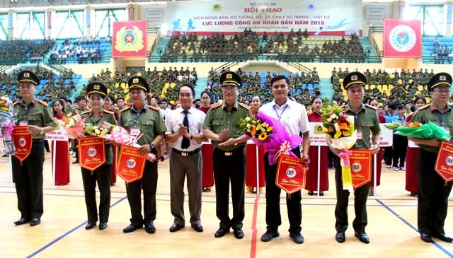 Hơn 1.600 vận động viên tham gia Hội thao lực lượng Công an Nhân dân