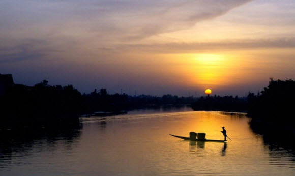 Kí ức sông quê ... Bồ Giang
